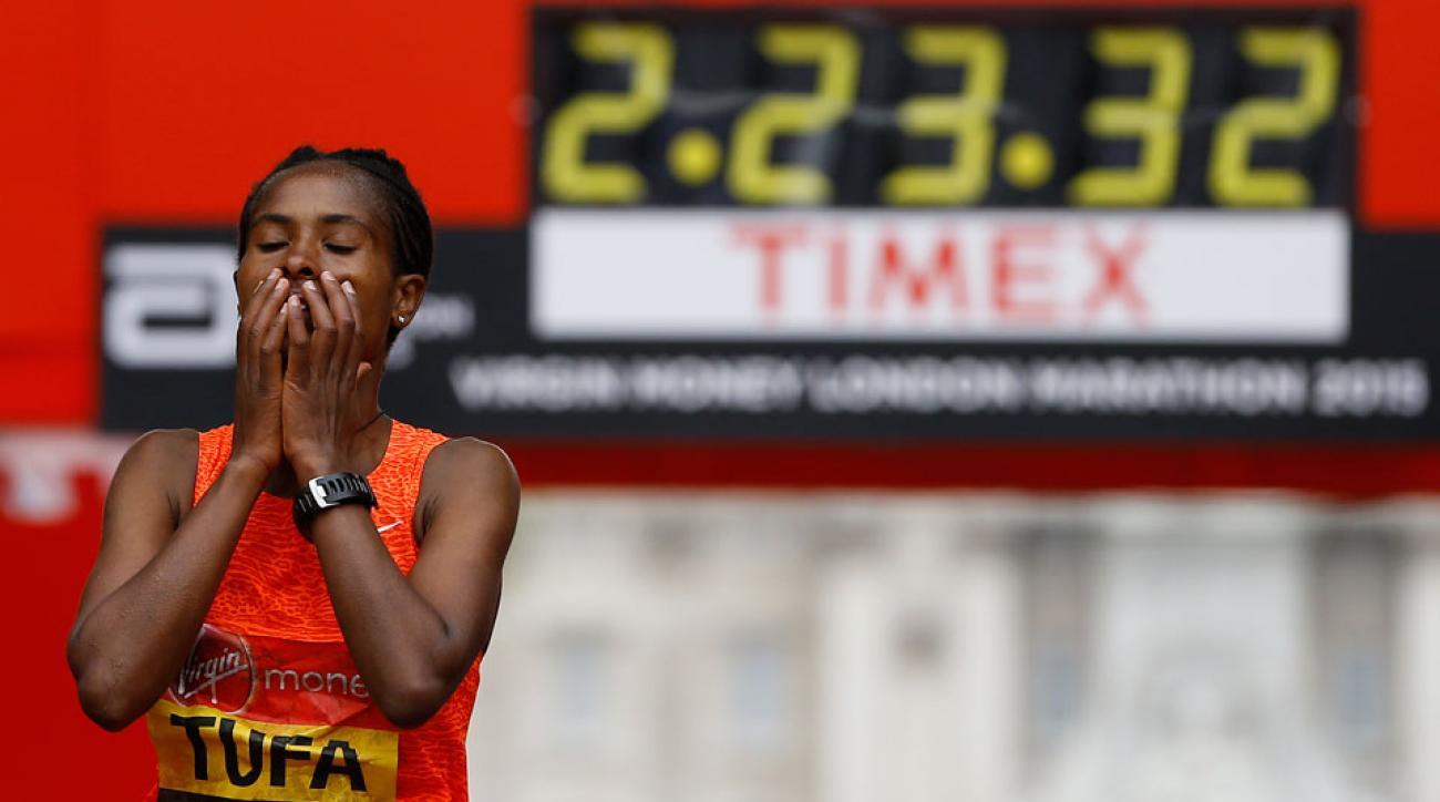 tigist tufa london marathon elite women field