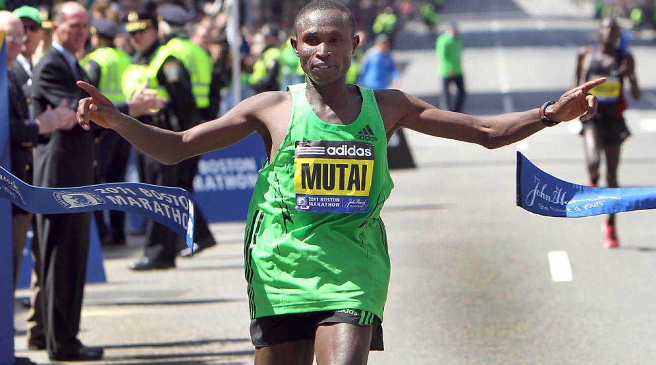 2016 boston marathon elite field announced geoffrey mutai wesley korir