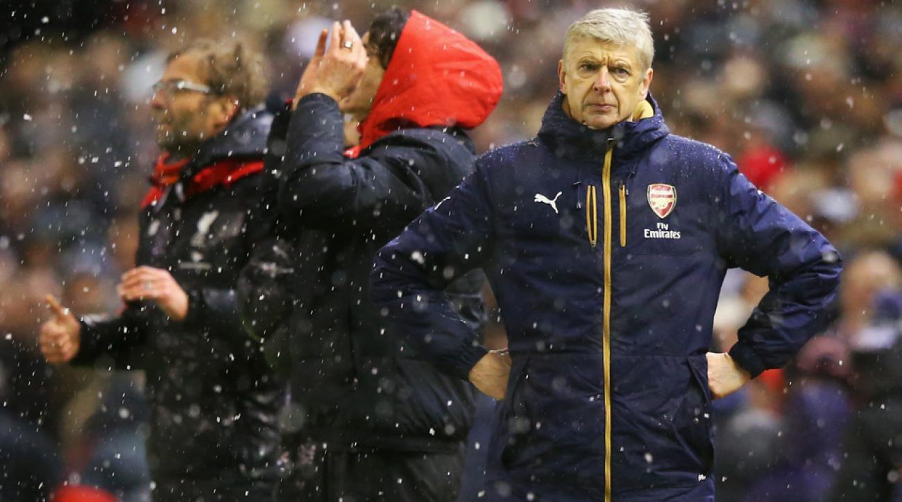 Arsene Wenger, Arsenal, Liverpool