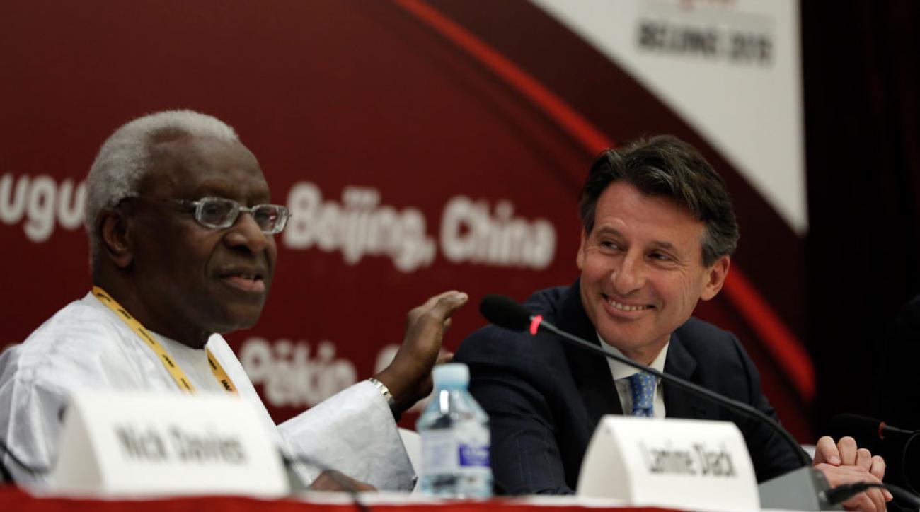 iaaf doping scandal corruption wada report lamine diack seb coe russia kenya