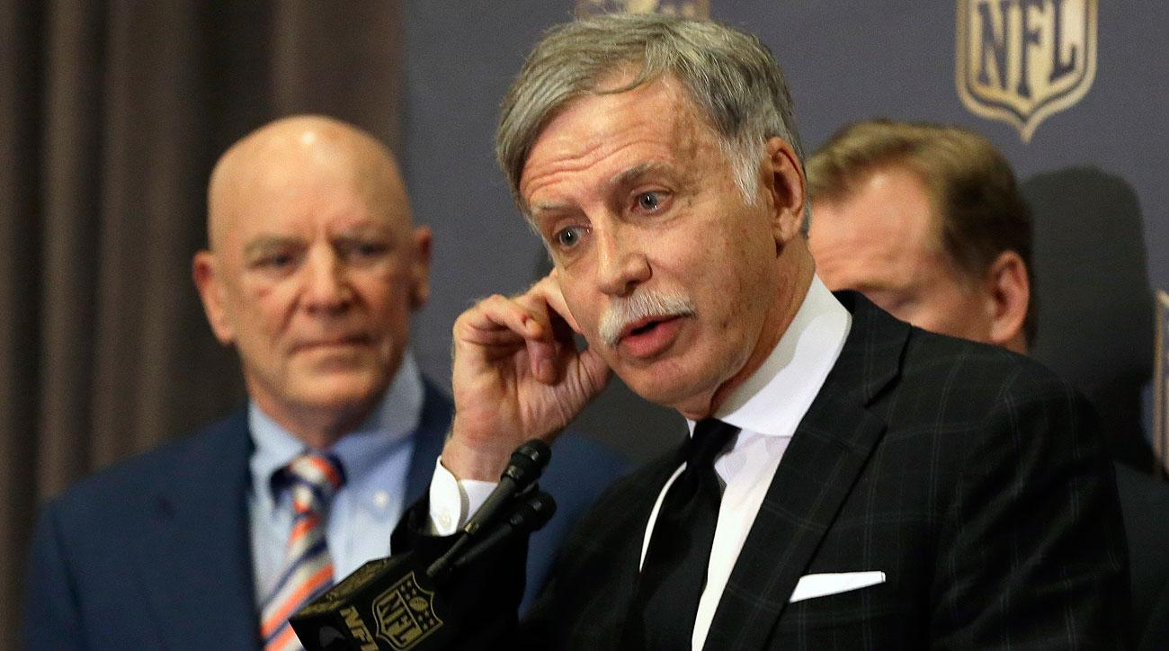 Rams owner Stan Kroenke, silent through most of the relocation process, said Tuesday: 'It's not easy to do these things.'