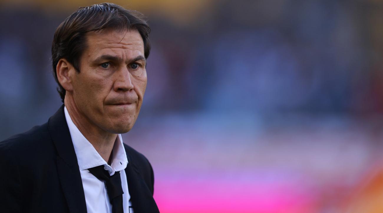 roma football rudi garcia sacked