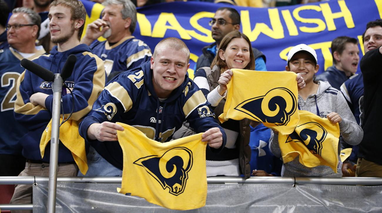 los angeles rams st louis fans new team root quiz