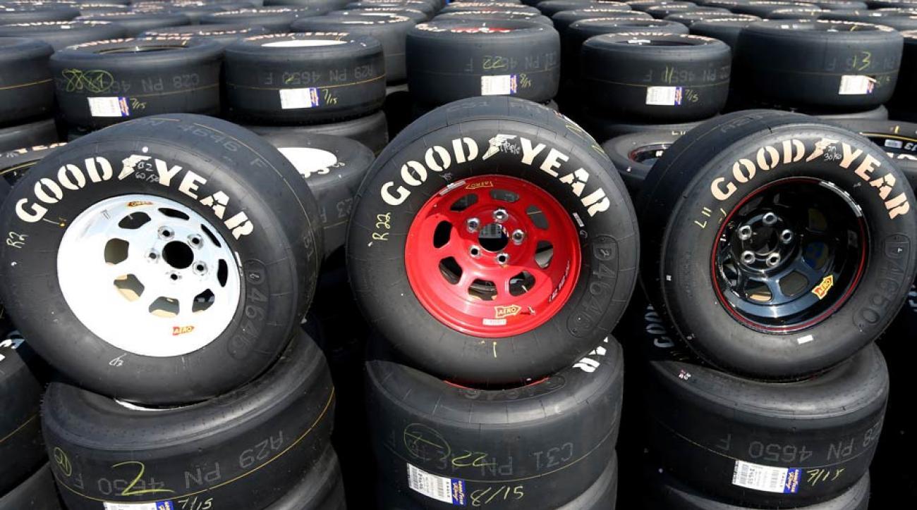 NASCAR racing tires