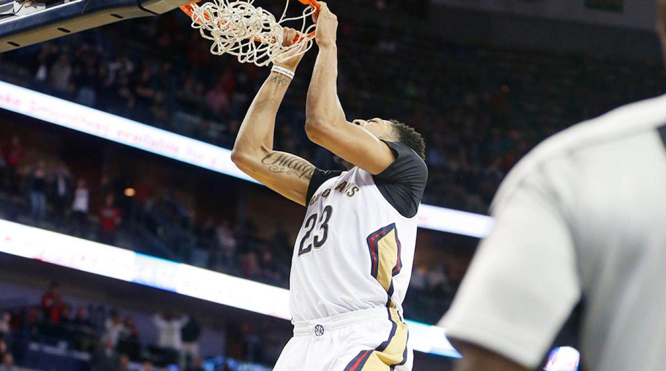 New Orleans Pelicans Anthony Davis game-winning dunk