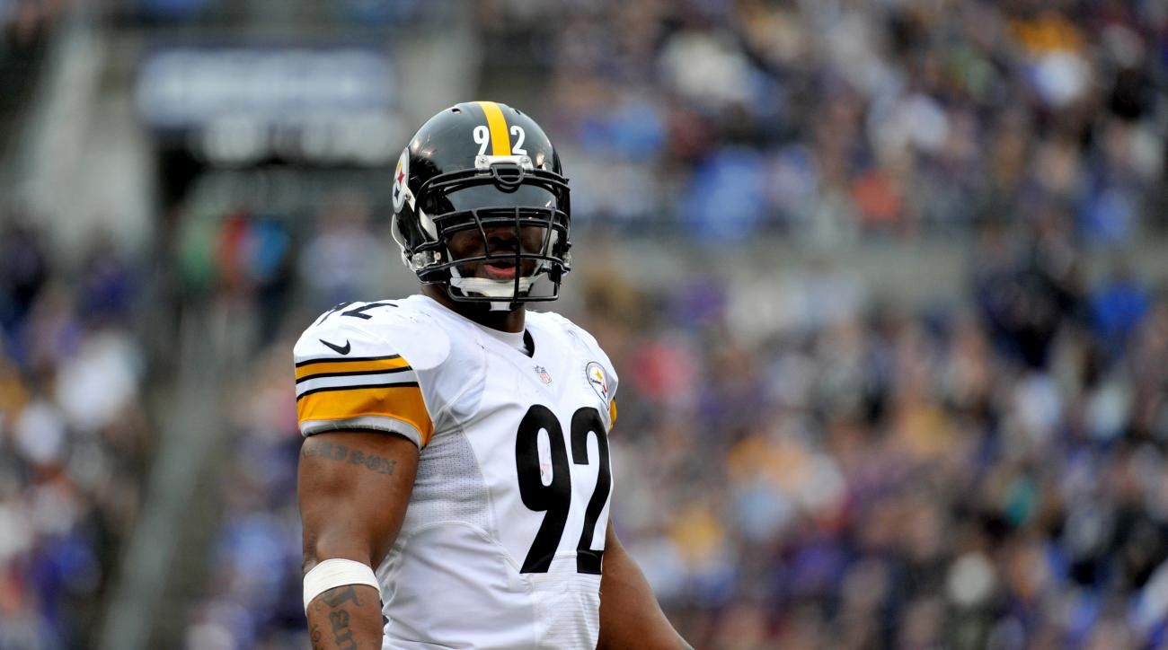 James Harrison uncertain about future in NFL