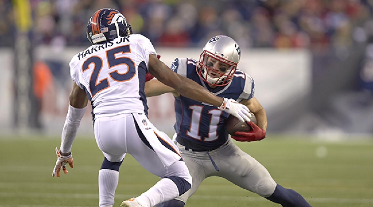 Julian Edelman vs. Chris Harris