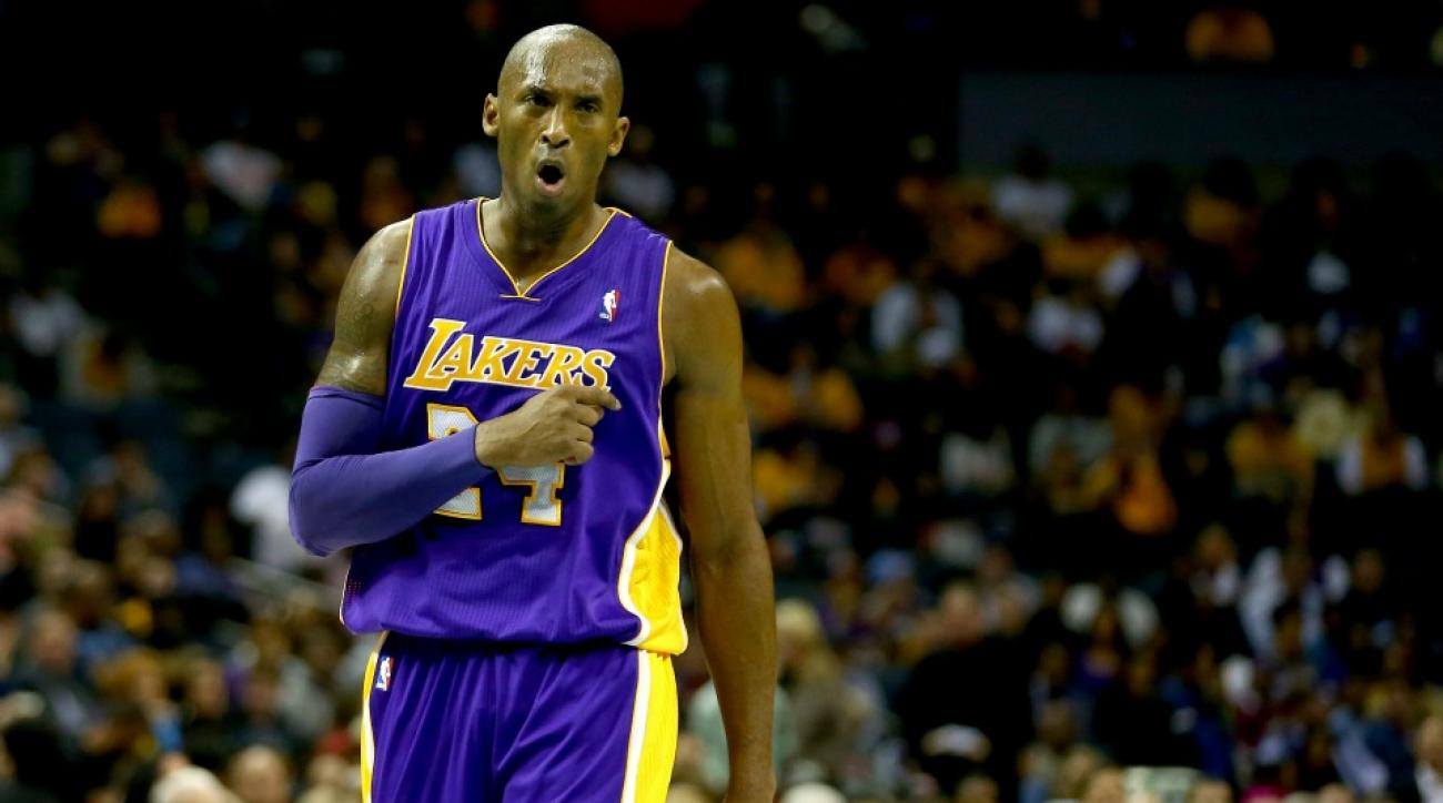 Los Angeles Lakers' Kobe Bryant has a new theme song from Nike