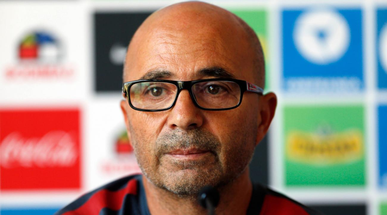 Jorge Sampaoli is leaving his post as Chile manager