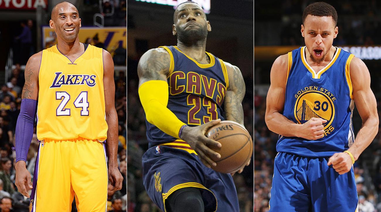 041b5079 NBA All-Star Game starters: Kob Bryant, Stephen Curry top list | SI.com
