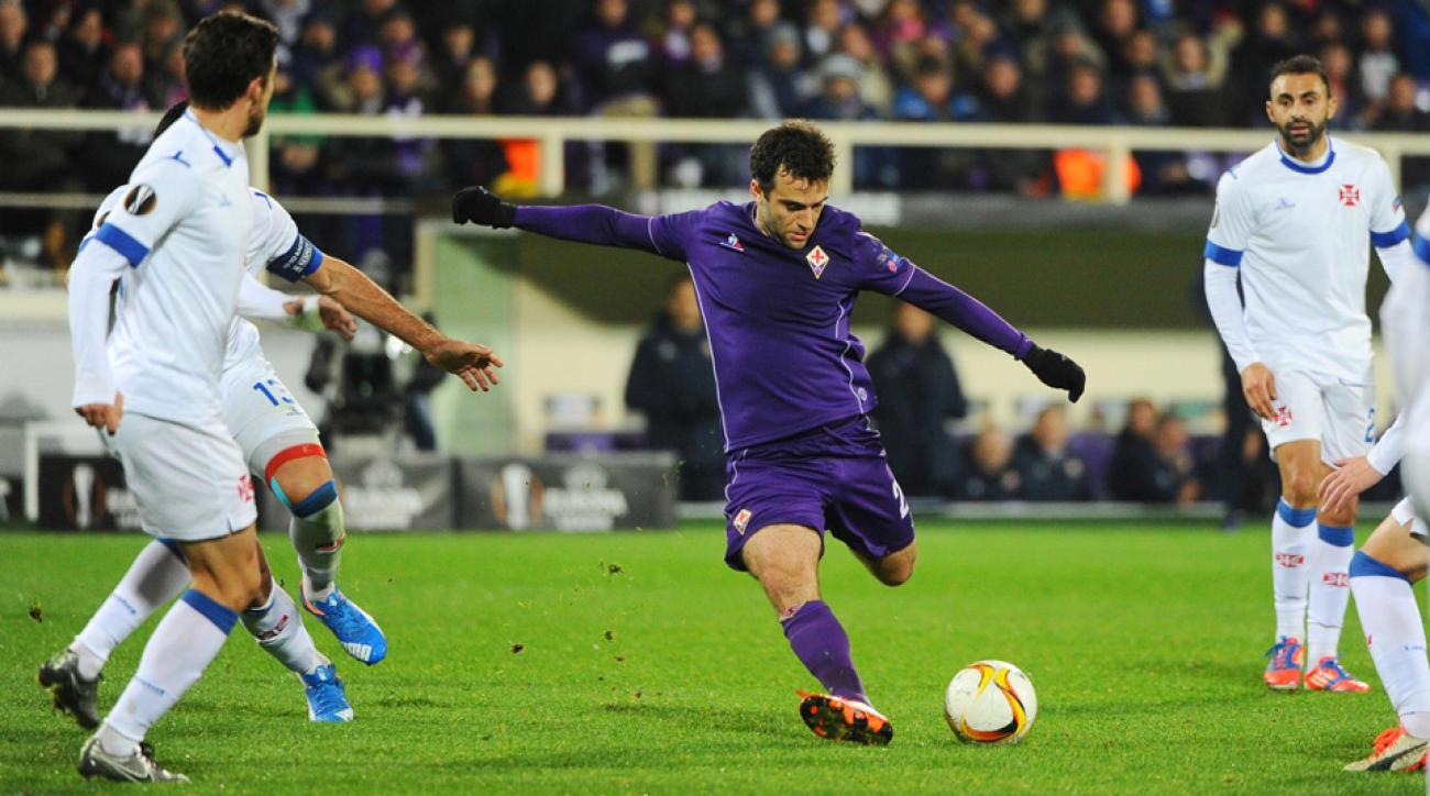 Giuseppe Rossi is on the verge of leaving Fiorentina