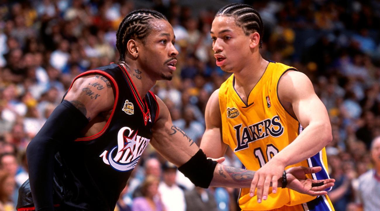 allen iverson tyronn lue stomp cavaliers head coach