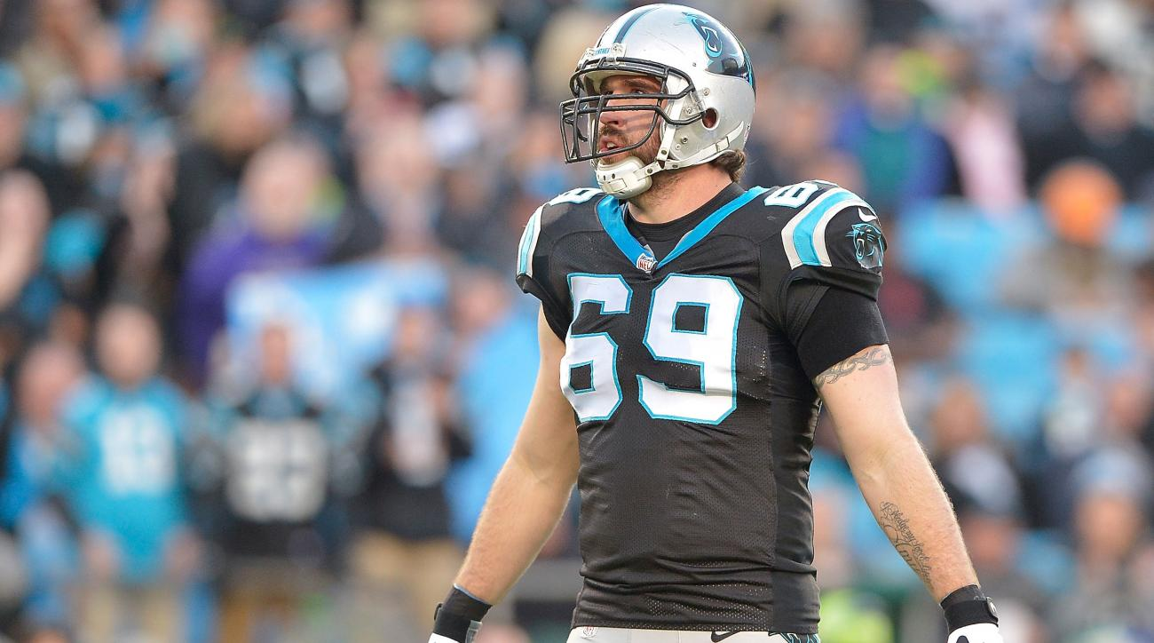 jared allen panthers cardinals out injury