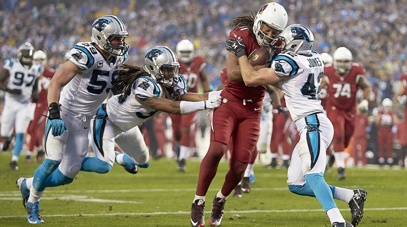 NFL Conference Championship Games: Larry Fitzgerald, Tom Brady, Cam Newton matchups in spotlight