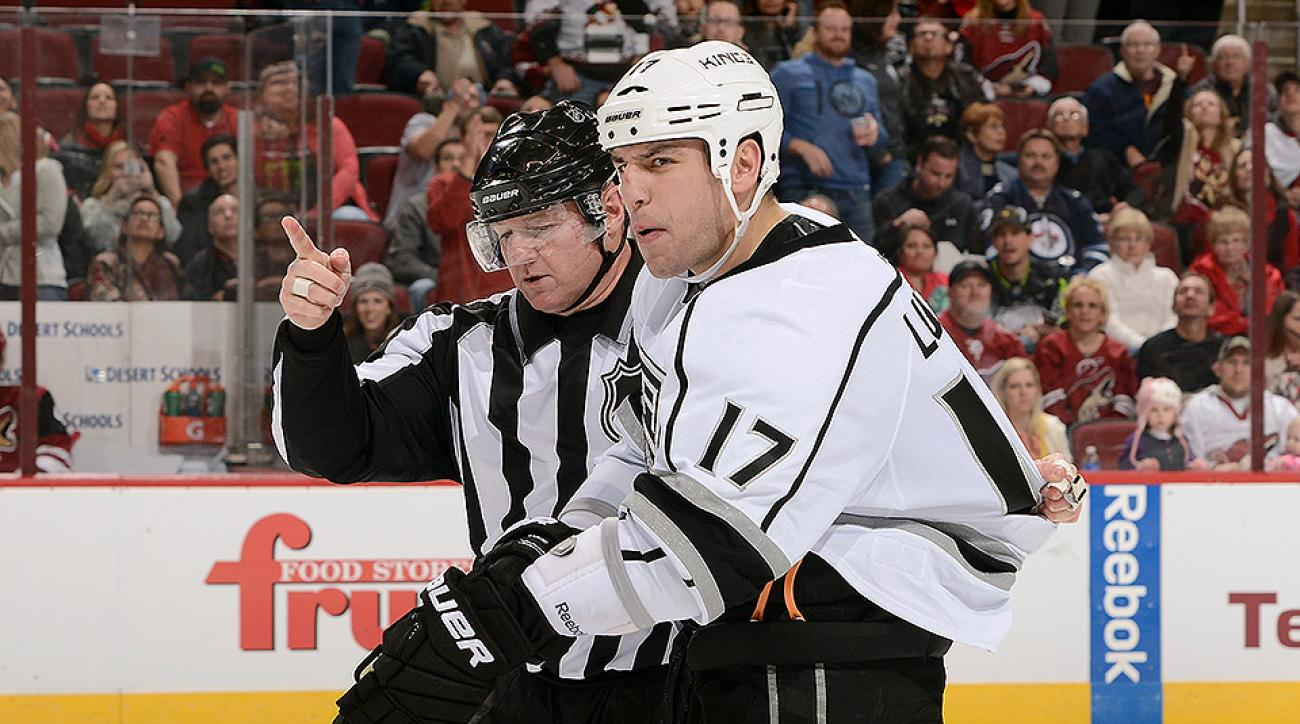 Los Angeles Kings Milan Lucic