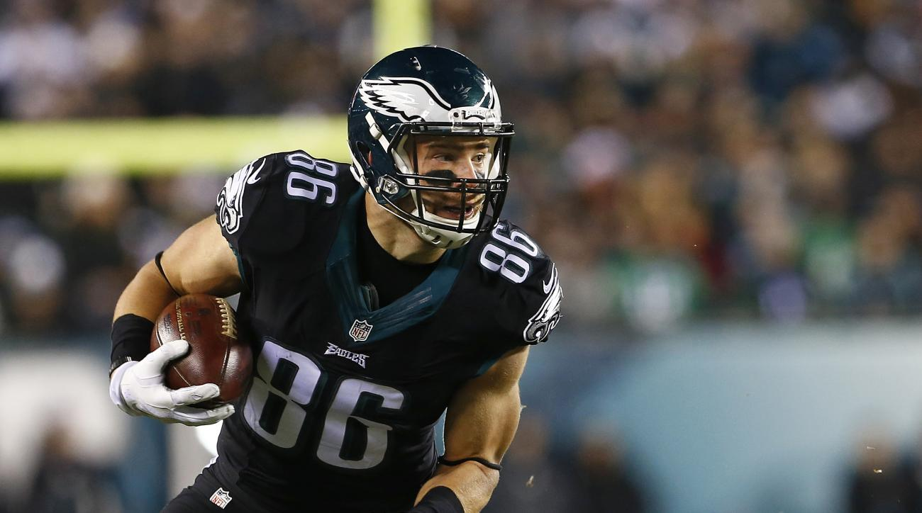 Eagles sign Zach Ertz to five-year contract extension