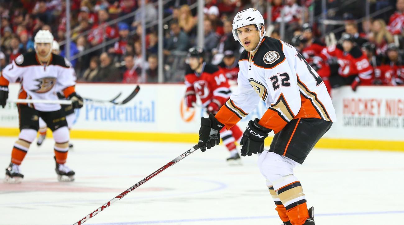 anaheim ducks shawn horcoff suspended 20 games ped violation