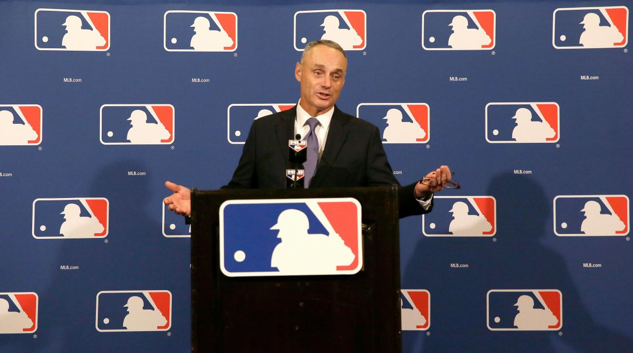 mlb london 2017 regular season games rob manfred