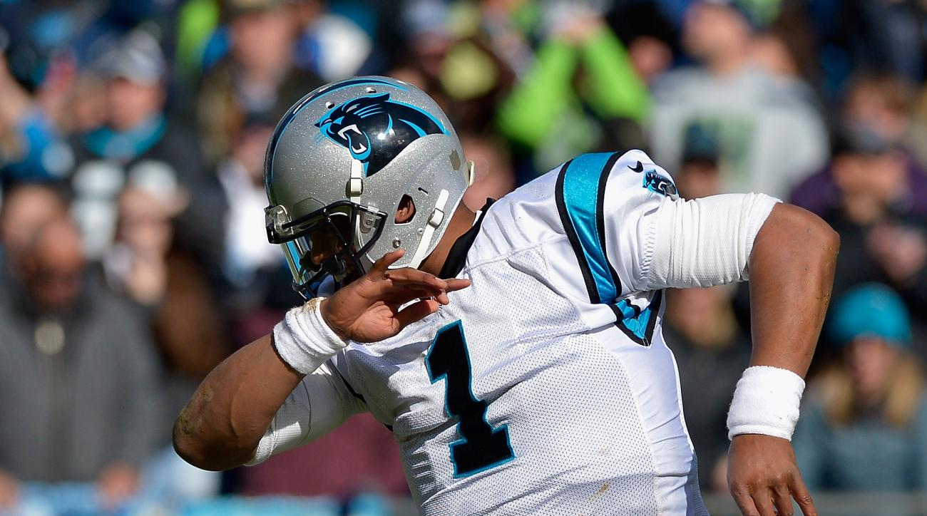 Old folks support Panthers by dabbing