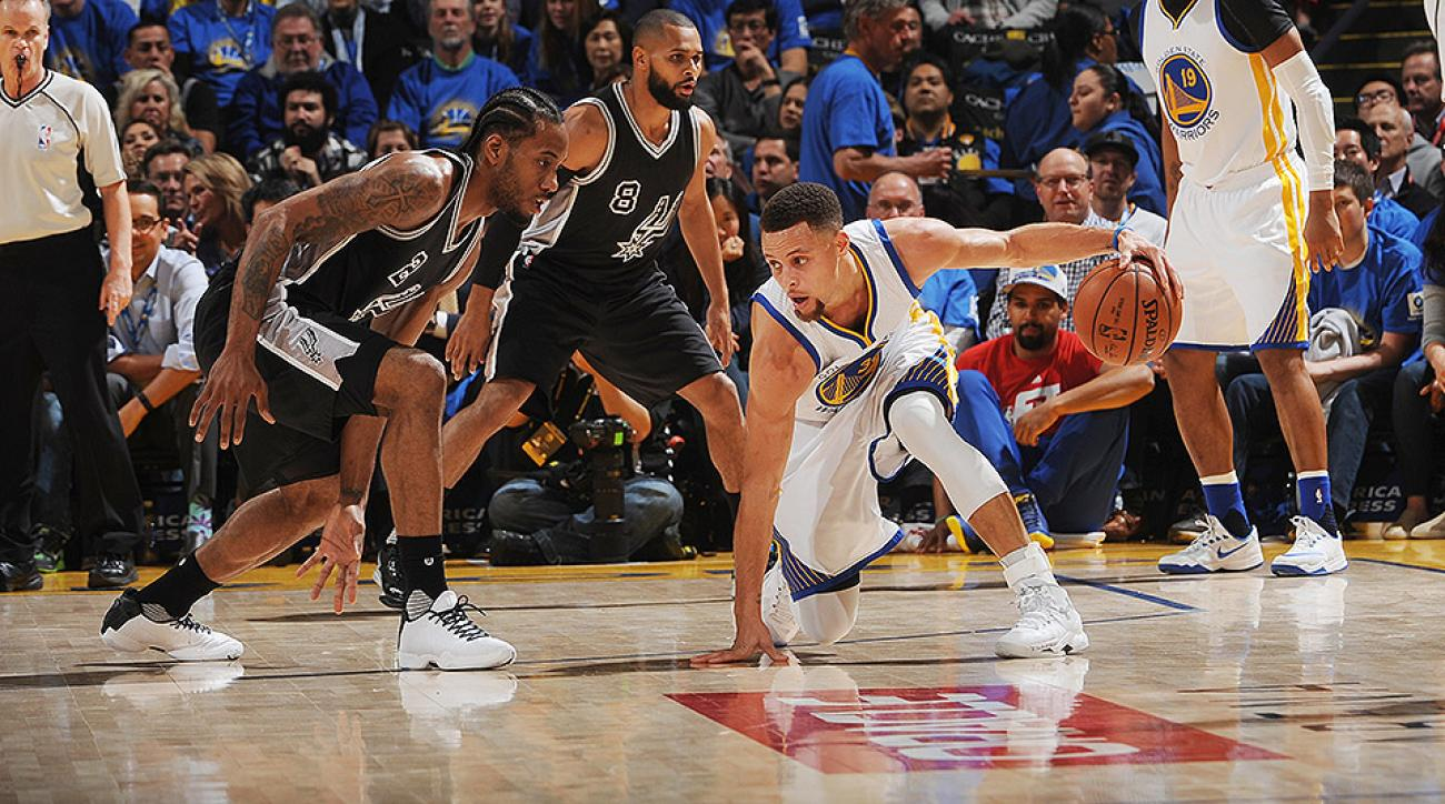 Stephen Curry: Warriors dominate Spurs in blowout win | SI.com