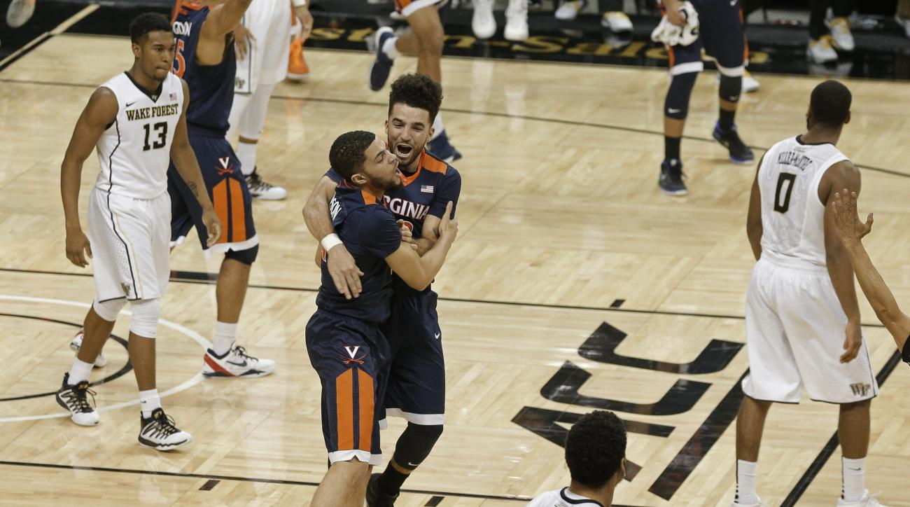 virginia wake forest buzzer beater video