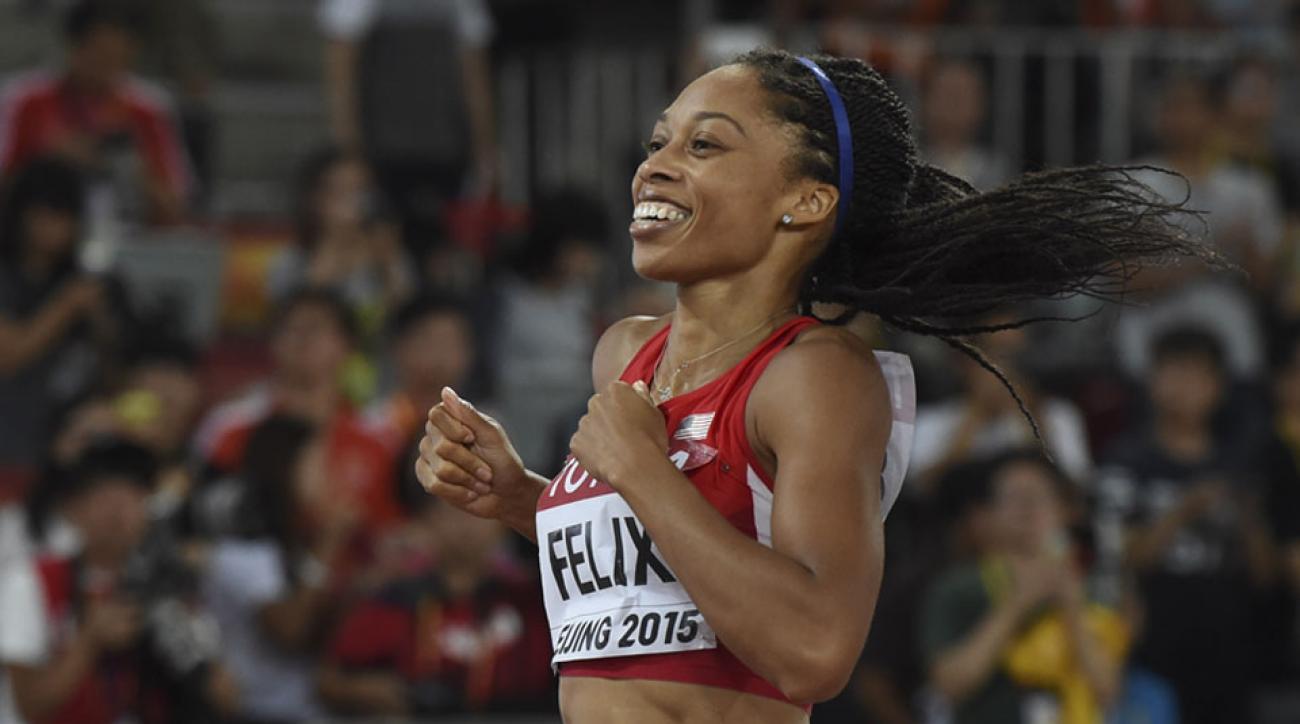 allyson felix millrose games 2016 olympics rio