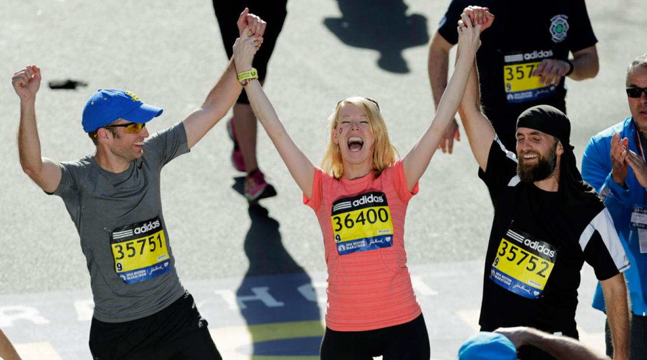 dancer to run boston marathon after leg amputation