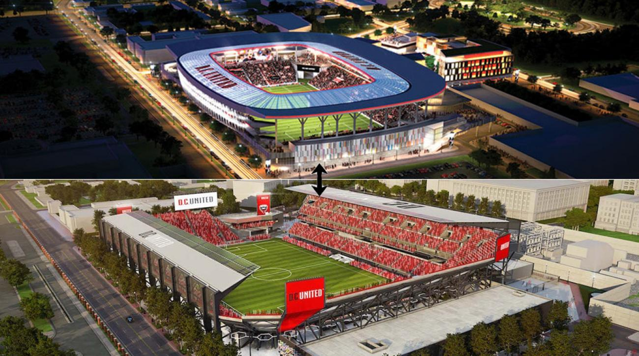 D.C. United's stadium plans at Buzzard Point