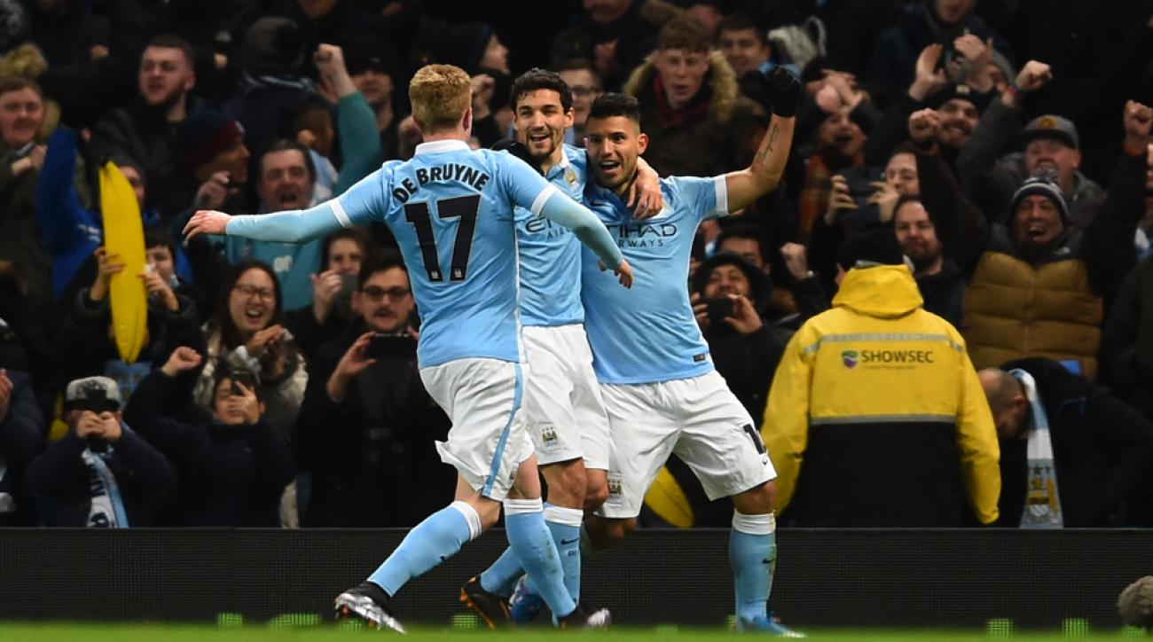 Manchester City beats Everton to reach the League Cup final