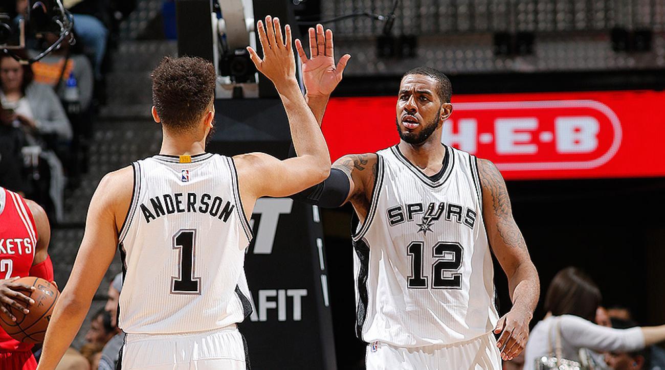 San Antonio Spurs LaMarcus Aldridge