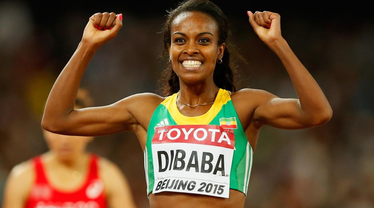 genzebe dibaba 1500 meter world record ama aden interview