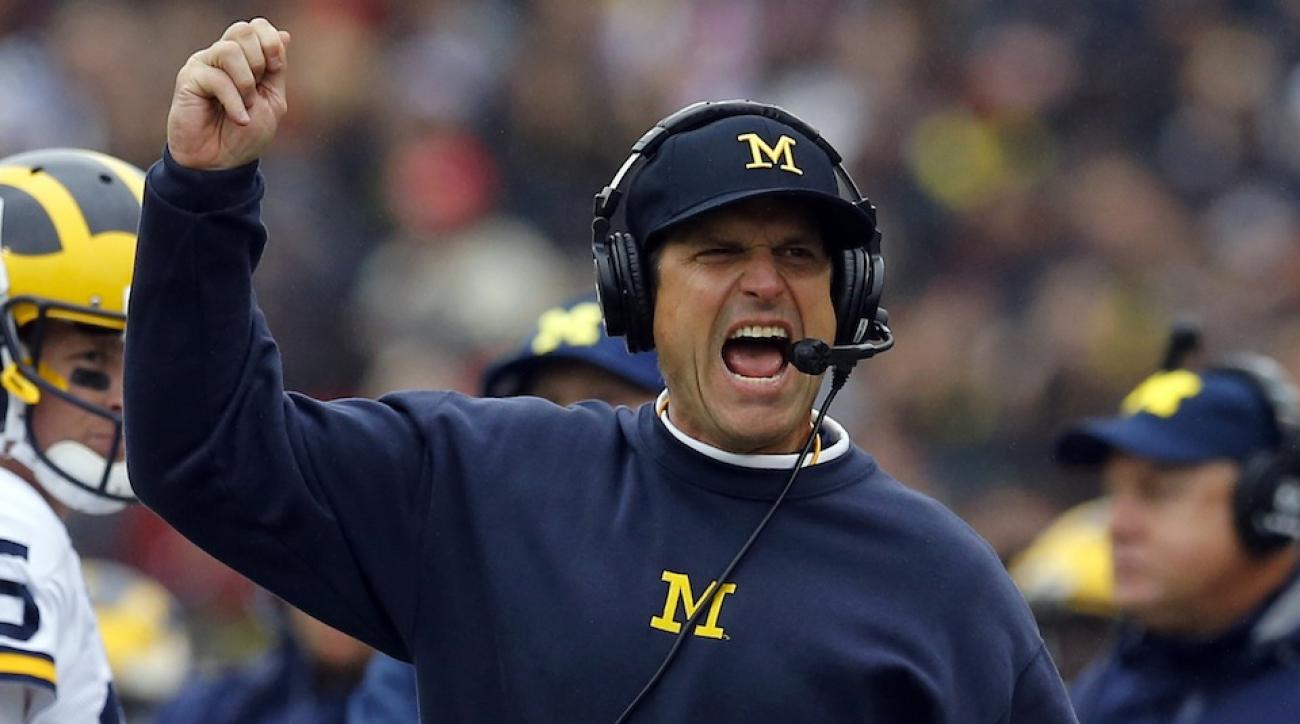 jim harbaugh michigan recruiting scandal