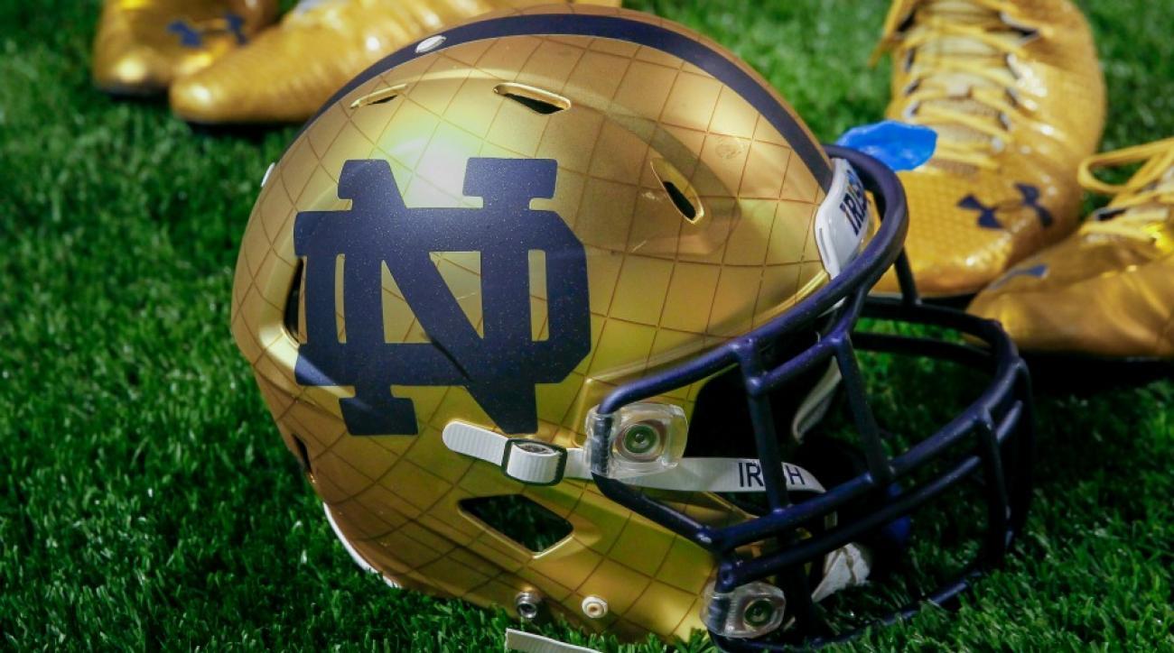 Notre Dame recruiting Demetris Robertson with big truck