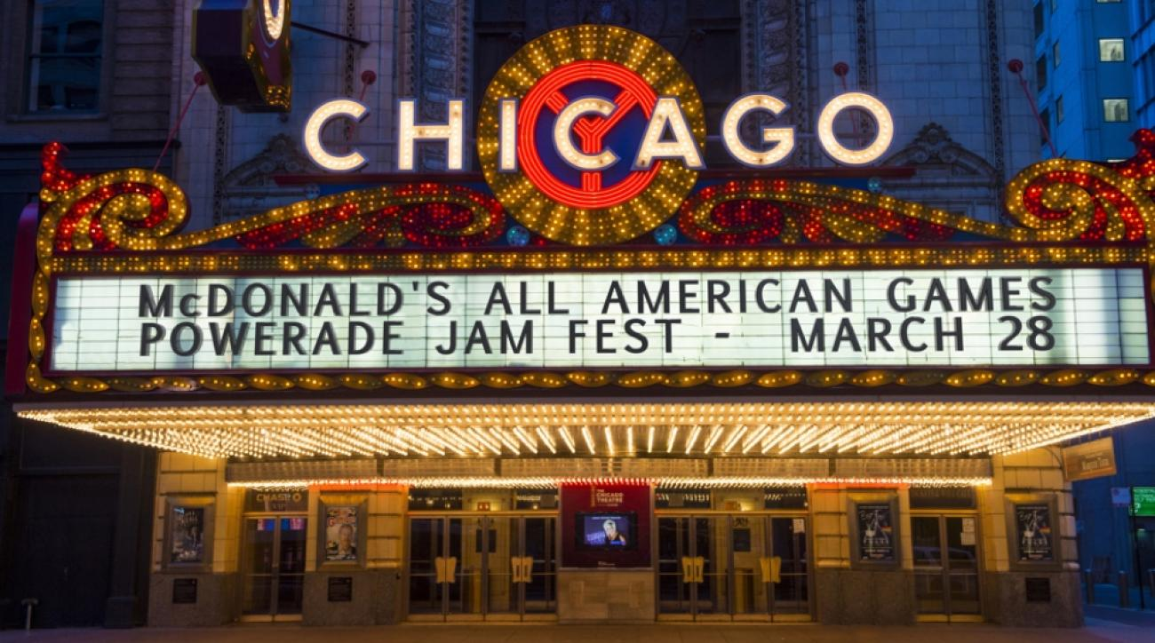 powerade jam fest chicago theatre 2016
