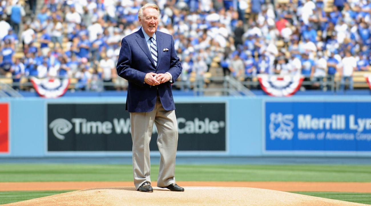 vince scully street los angeles honor