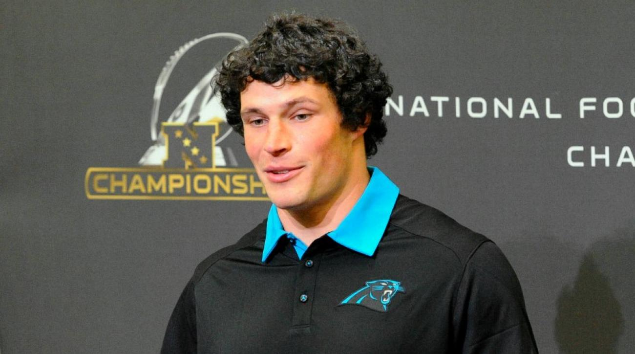 Carolina Panthers' Luke Kuechly not cutting his hair until after the Super Bowl