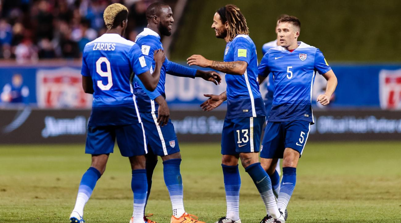 USA takes on Iceland in a friendly.