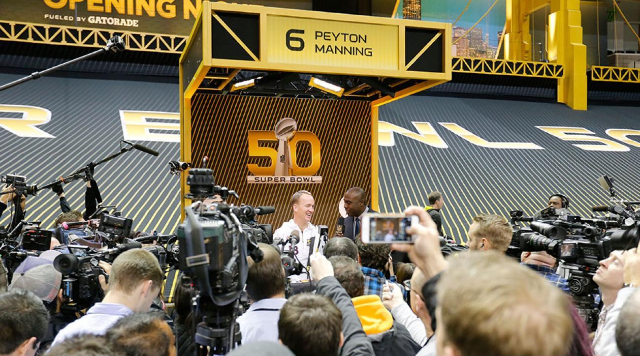 peyton manning cam newton mvp media day