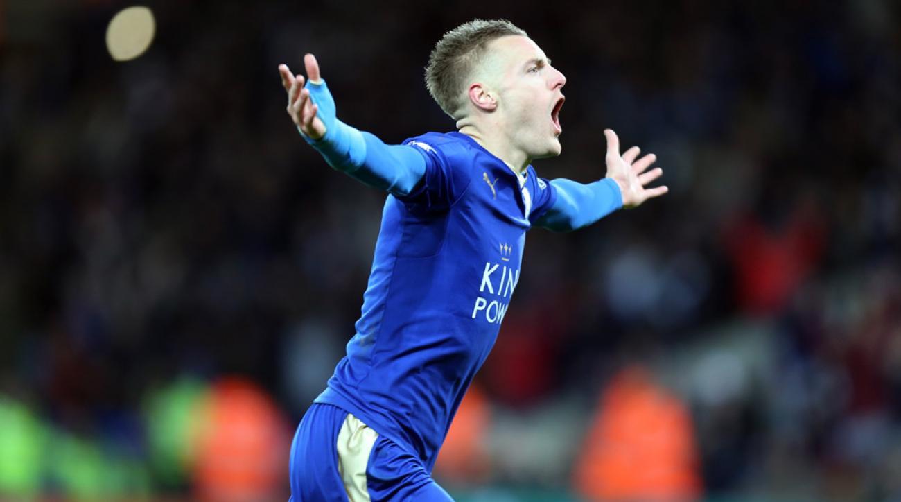 Jamie Vardy scored a wondergoal for Leicester City vs. Liverpool