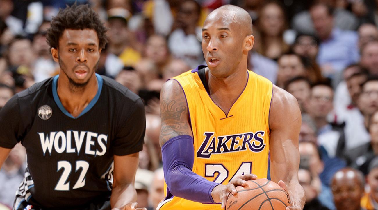 Lakers Timberwolves Kobe Bryant season high video