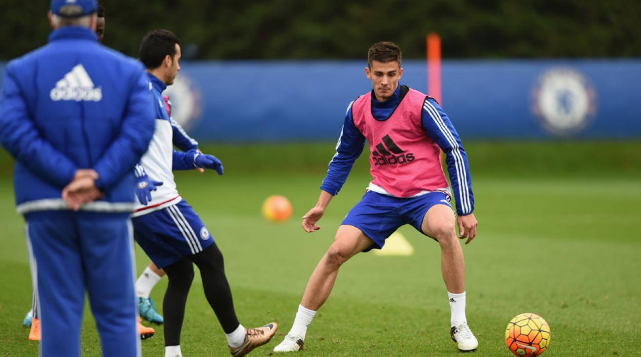 Matt Miazga has made Chelsea's Champions League squad