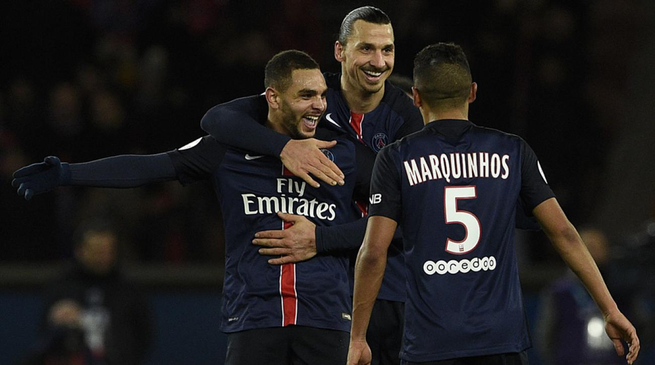 PSG beats Lorient to remain unbeaten in 33 straight league games