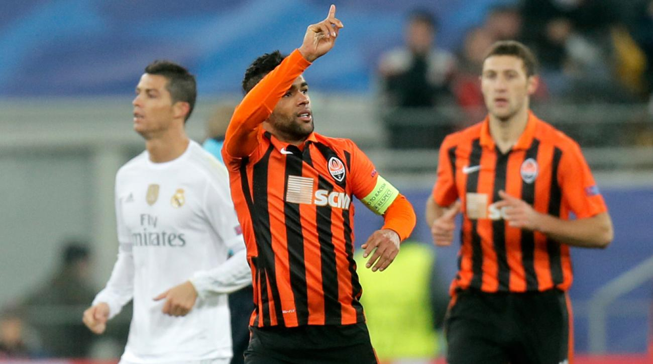 Alex Teixeira appears headed to China from Shakhtar Donetsk