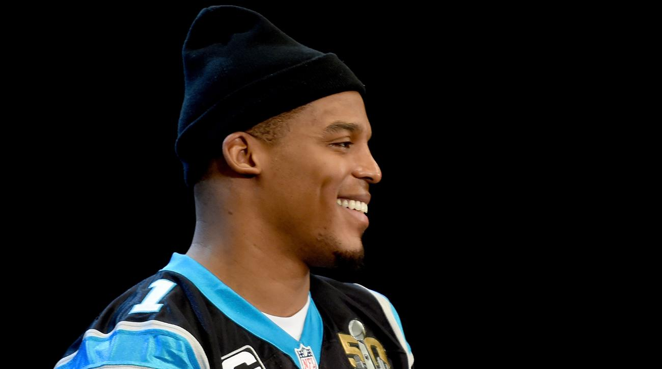 cam newton panthers super bowl kid fasting
