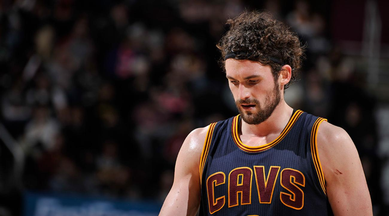 Cleveland Cavaliers Kevin Love