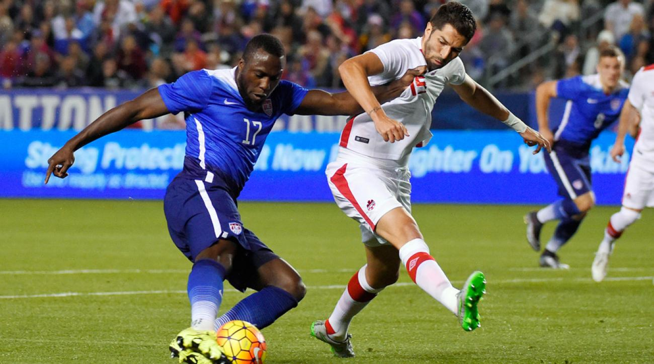 Jozy Altidore and the USA take on Canada in a friendly