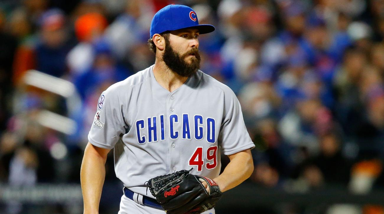 jake arrieta chicago cubs arbitration contract agree