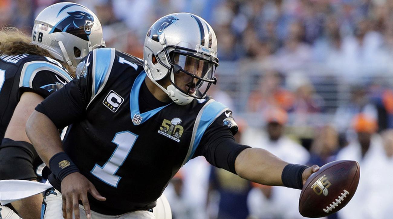 cam newton carolina panthers super bowl 50 touchdown