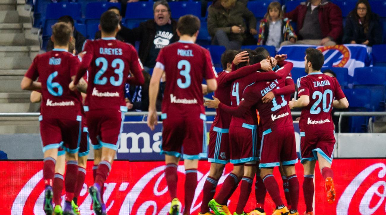 Mexico's Carlos Vela scored a great goal for Real Sociedad vs. Espanyol in La Liga