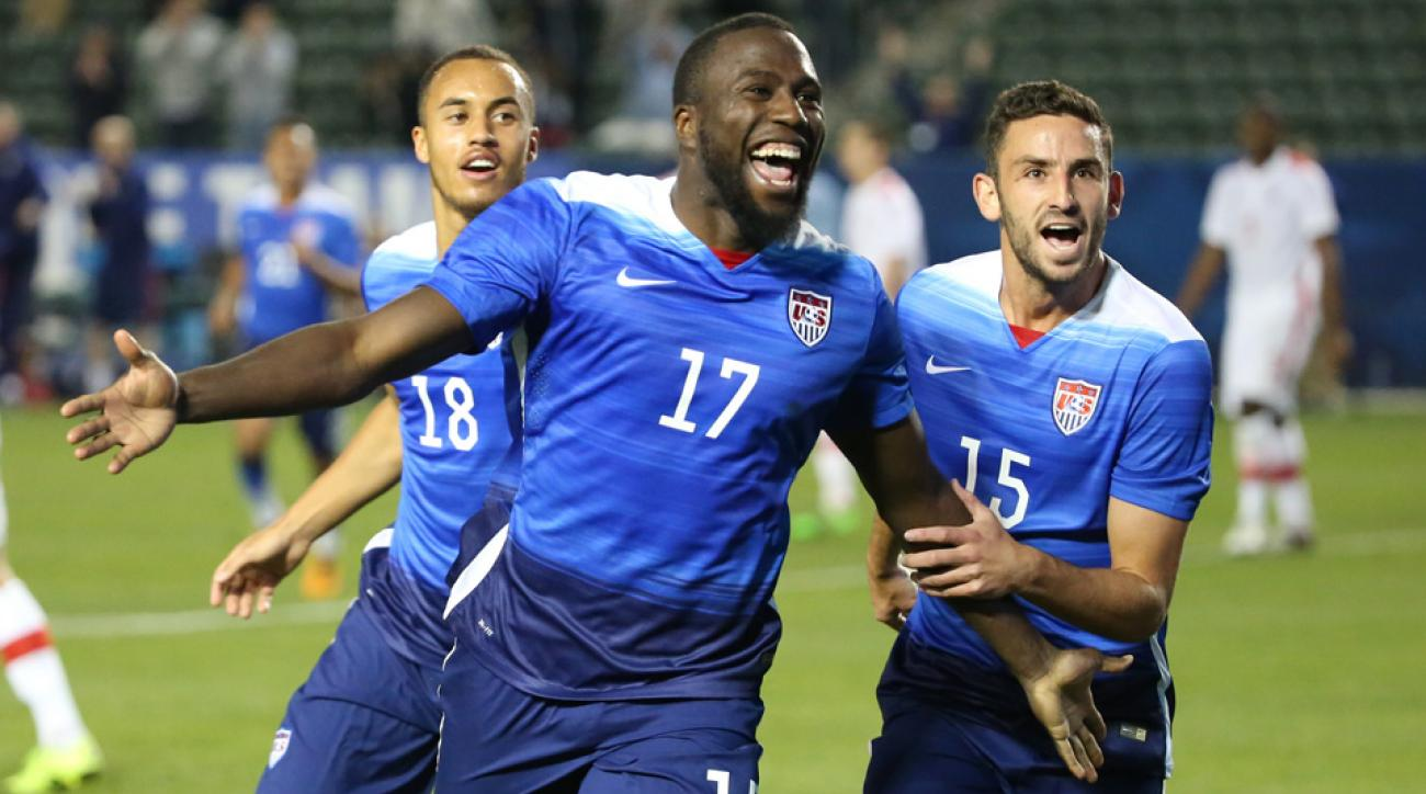 Jozy Altidore scored in both January Camp games for the USA.